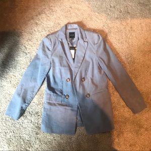 Light blue corduroy blazer